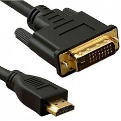 Cable de HDMI a DVI 24+1 (5...