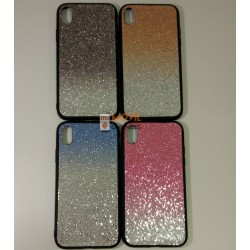 Funda de gel con brillantes...