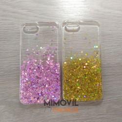 Funda purpurina para iPhone...