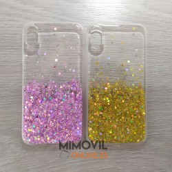 Funda purpurina para iPhone...