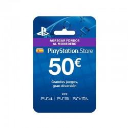 Tarjeta Sony prepago 50...