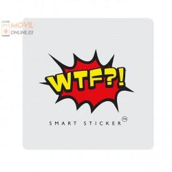 Pegatina soporte Móvil WTF?!
